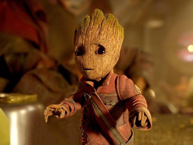 Baby groot guardians of the galaxy vol 2.
