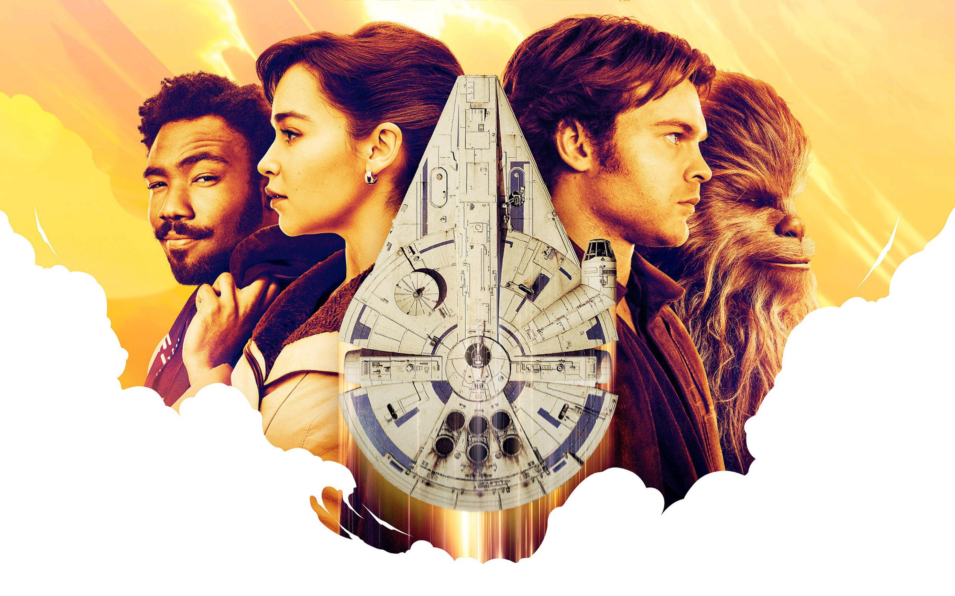 Соло история Звездных войн обои скачать