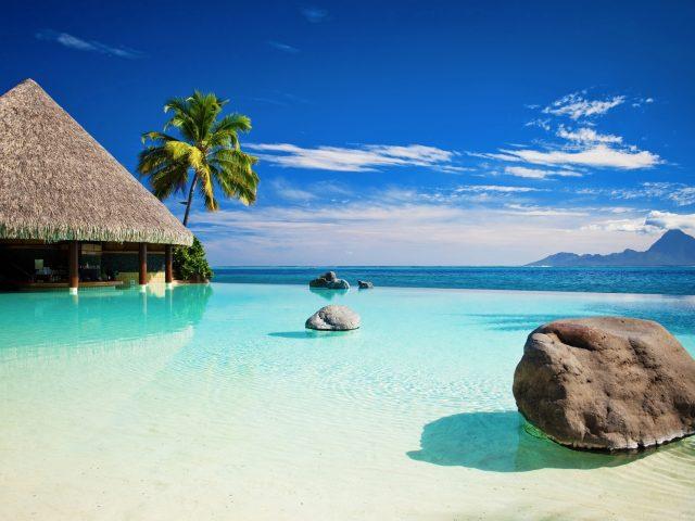 Камень,  пейзаж,  море