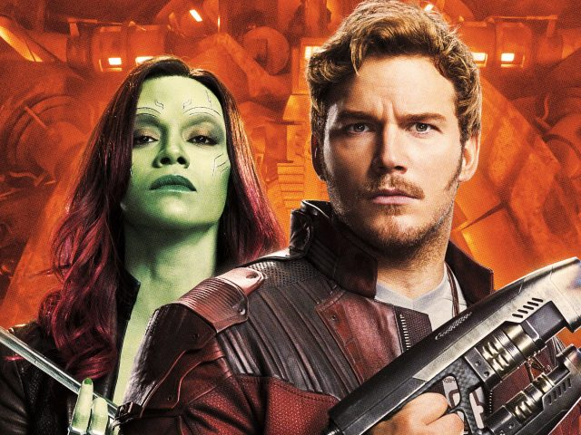 Guardians of the galaxy vol 2 peter quill gamora.