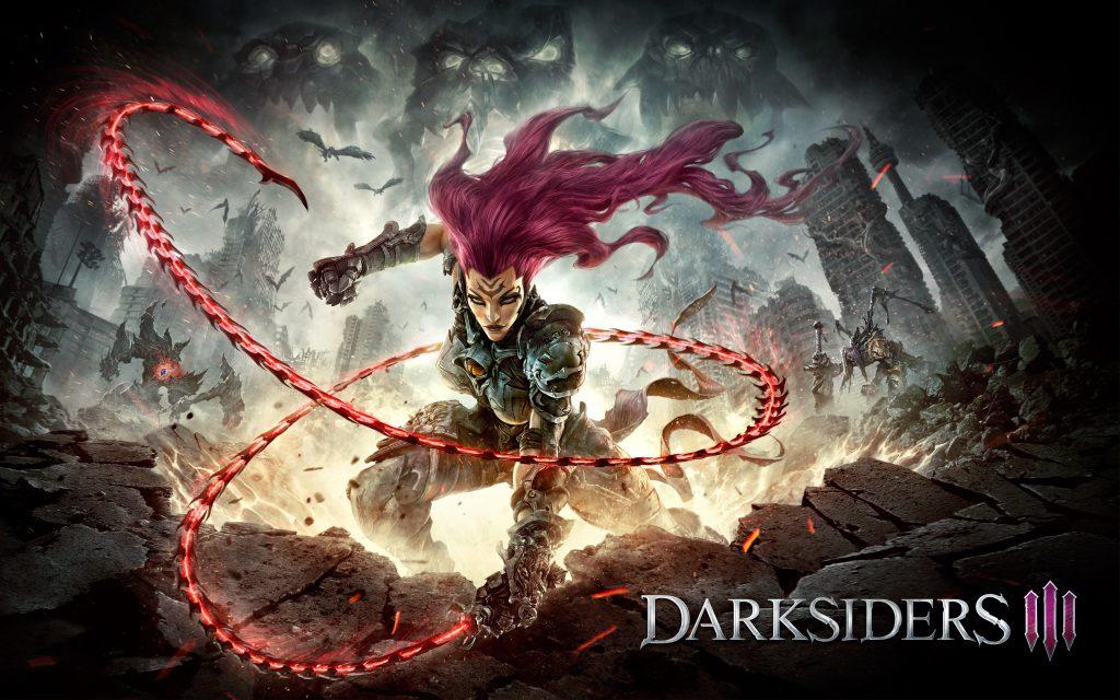 Fury darksiders 3 8k. обои скачать