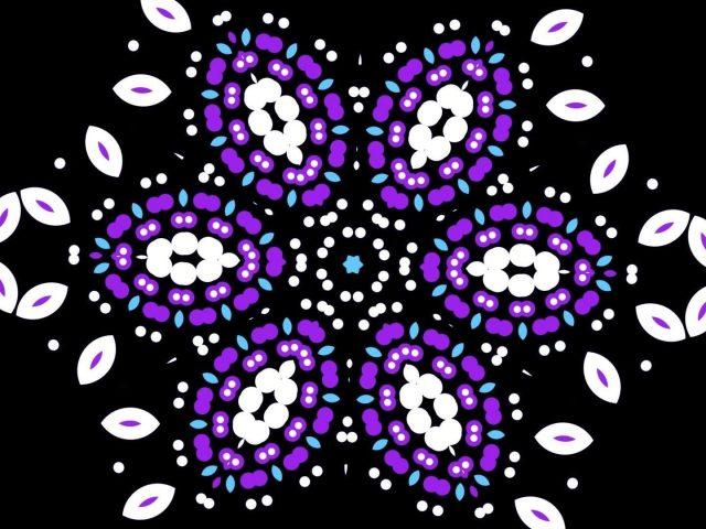 Белый фиолетовый красочная геометрия абстракция