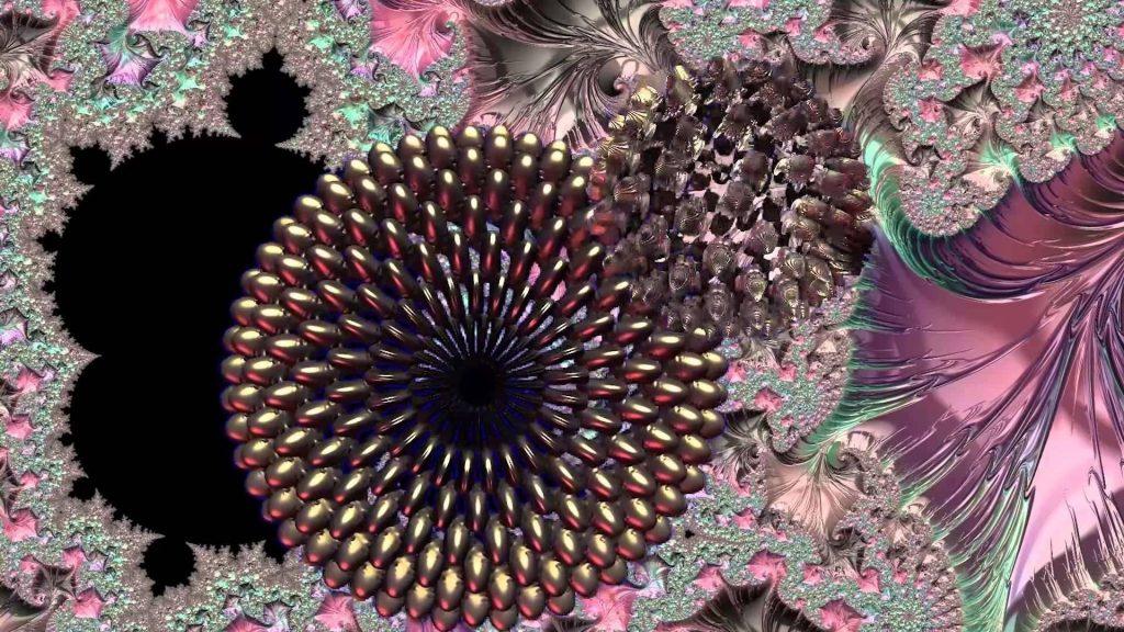 Красочные блики цветочные фрактальные абстракции искусство абстракции обои скачать