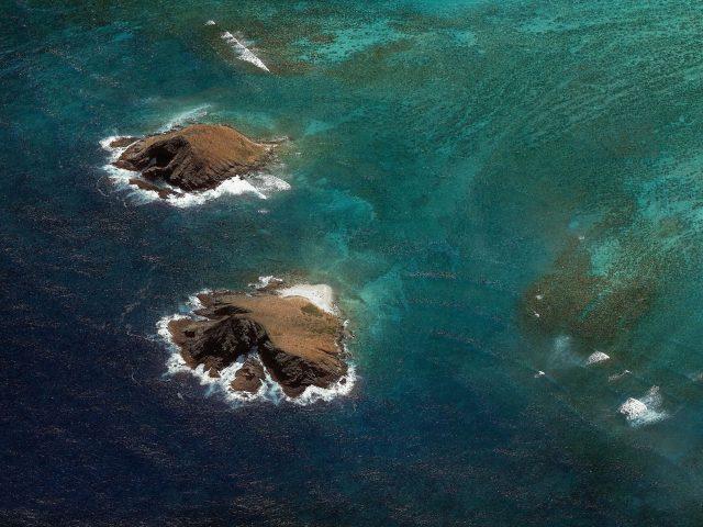 Морской пейзаж android Орео нуга