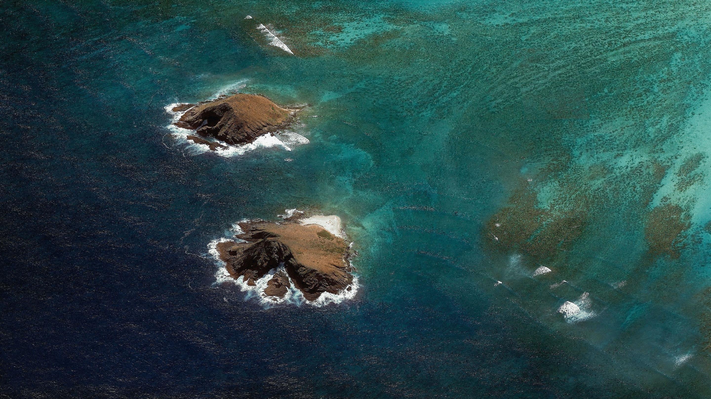 Морской пейзаж android Орео нуга обои скачать