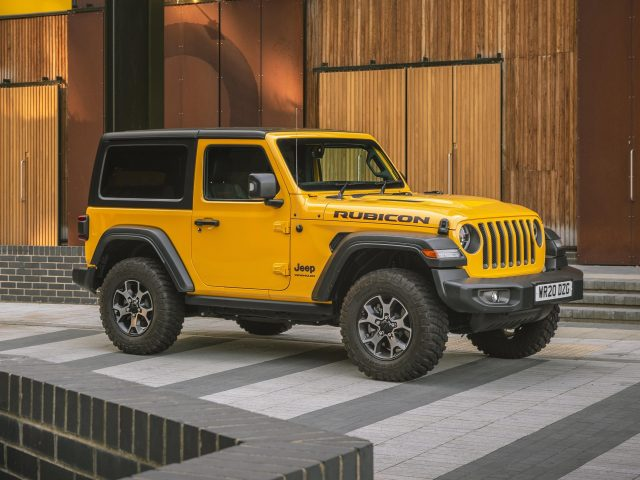 Желтый wrangler rubicon jeep автомобили