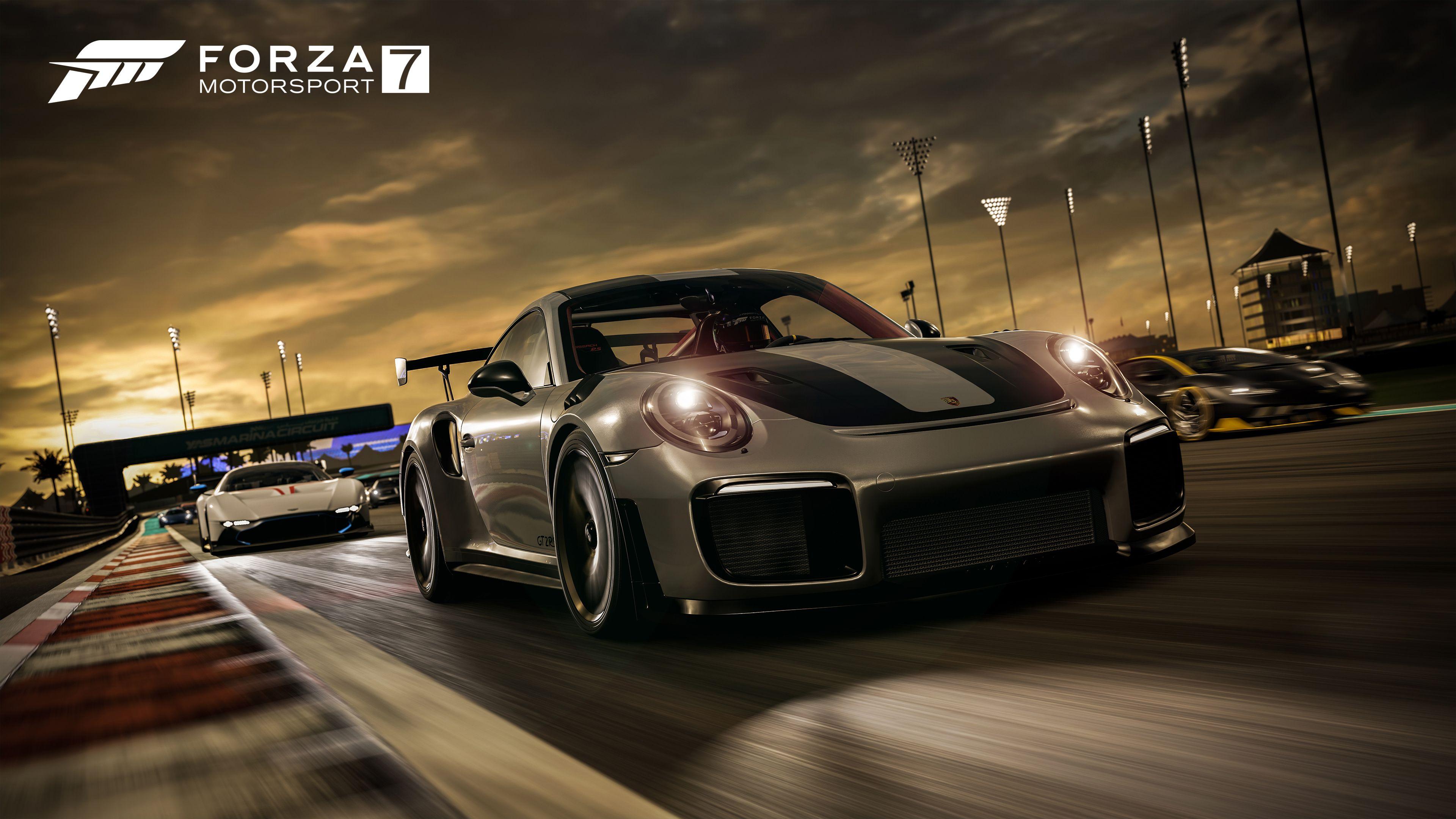 Forza автоспорт 7 Porsche 911 GT2 RS обои скачать