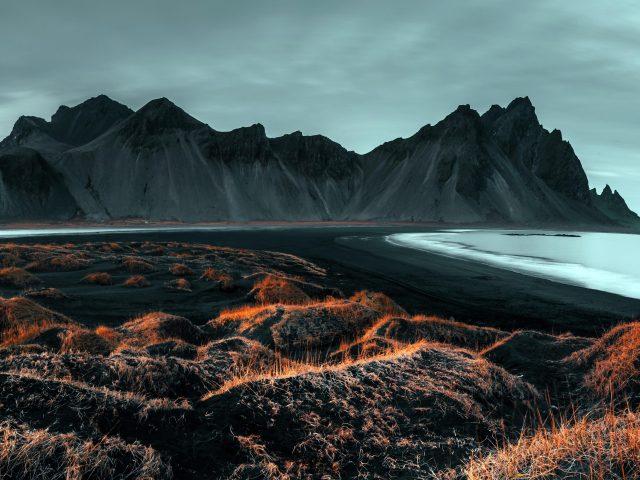 Горный хребет Исландия