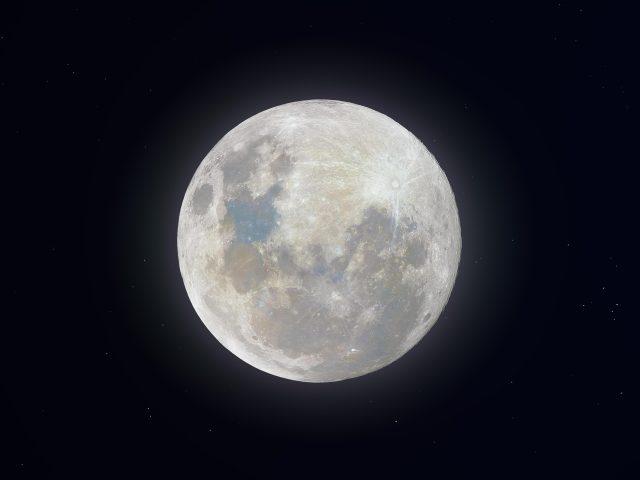 Супер снежная Луна
