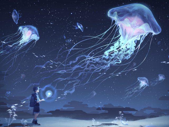 Подводная мечта медузы