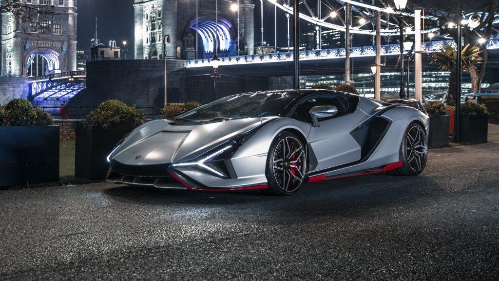 Lamborghini sian fkp 37 2021 7 автомобилей обои скачать