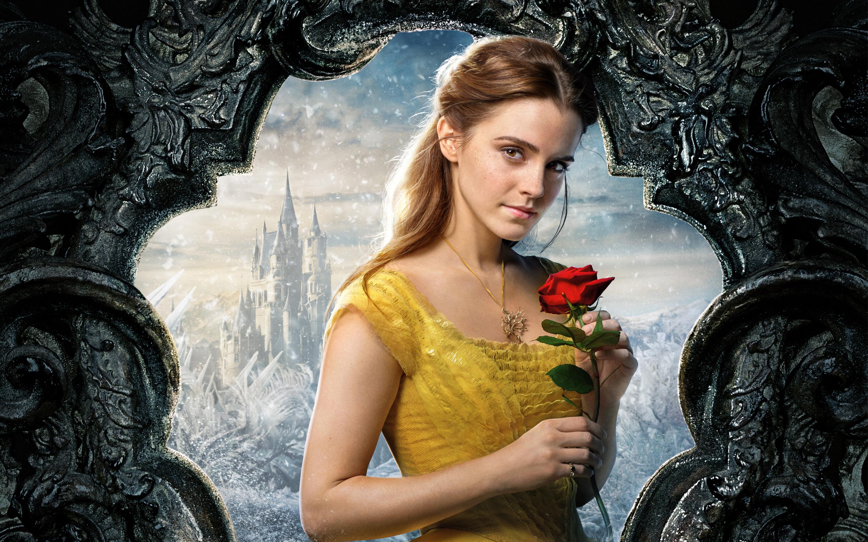 Belle beauty and the beast emma watson. обои скачать