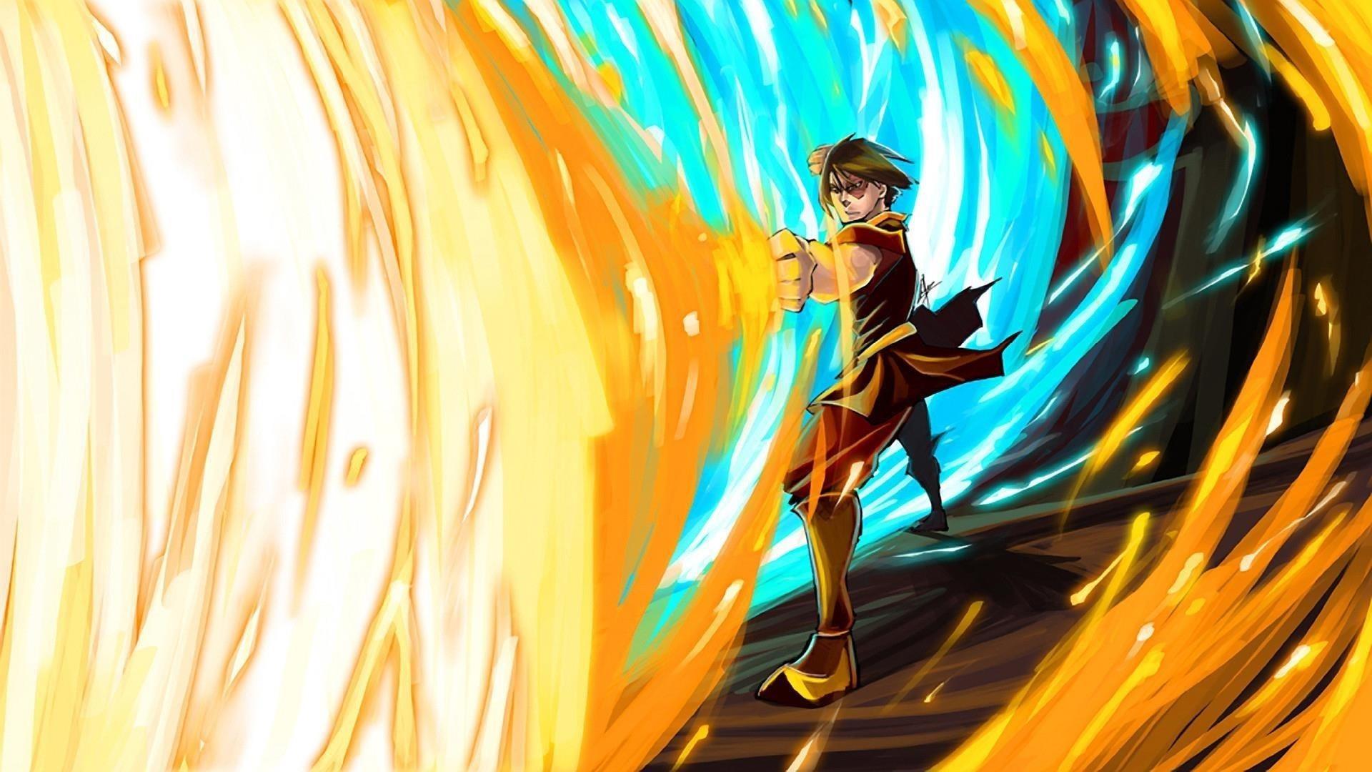 Аватар последний маг воздуха Зуко в огненном аниме обои скачать