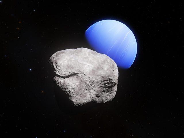 Нептун Луна гиппокамп