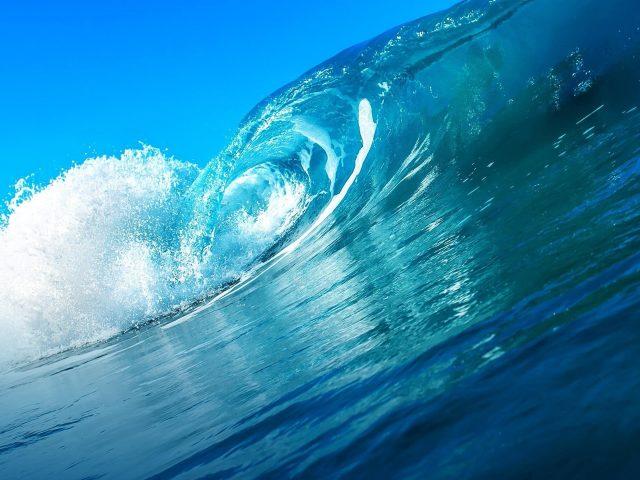 Океанская ветровая волна