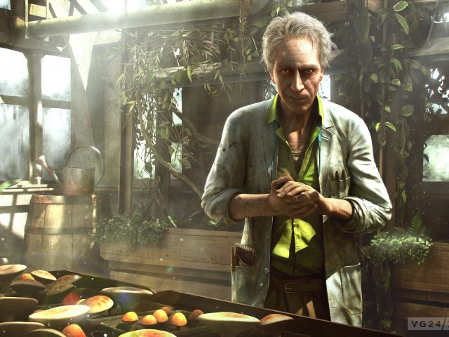 Far cry 3,  старик,  ученый,  сад