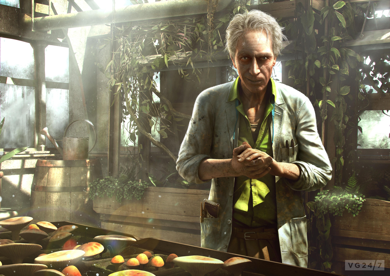 Far cry 3, старик, ученый, сад обои скачать