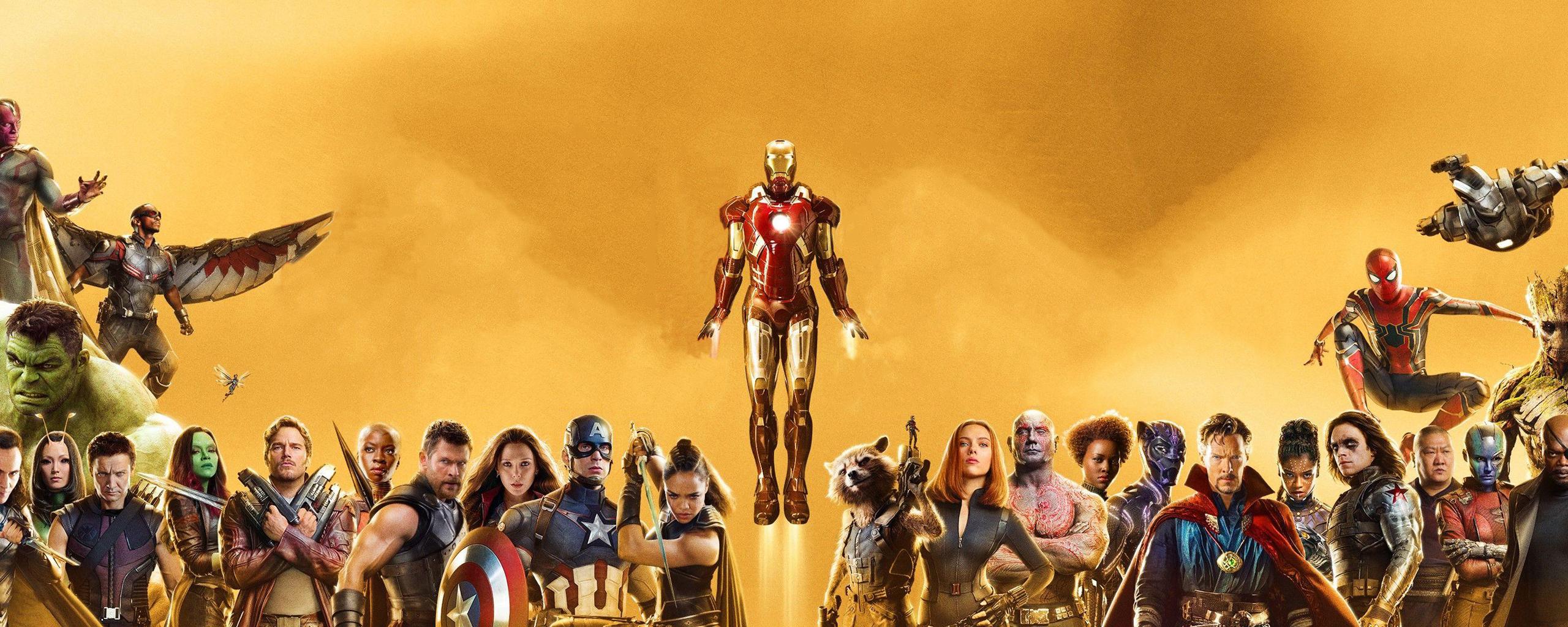 10-летие кинематографической Вселенной marvel обои скачать