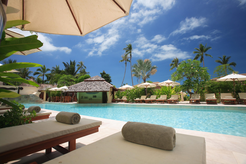 Samui, resort, pool, bar обои скачать