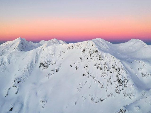 Горы фагарас в Румынии
