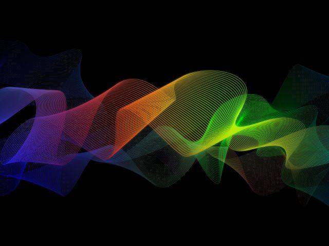 Красочная абстрактная лента
