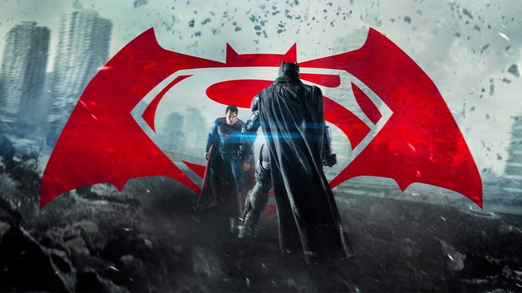 Бэтмен против супермена на заре справедливости. обои скачать