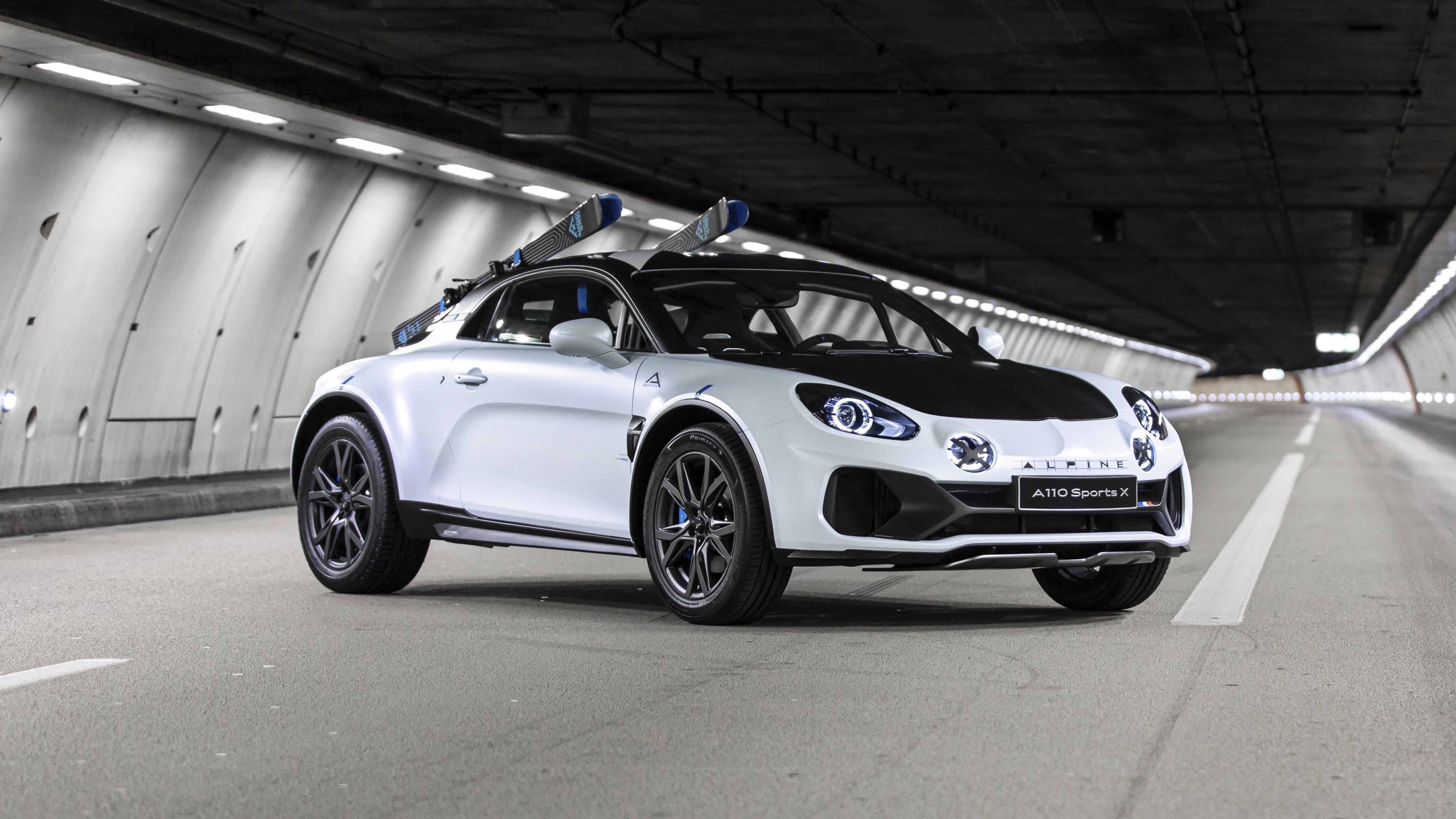Alpine a110 sports 2020 обои скачать