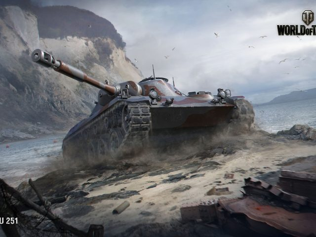 Ру 251 Мир танков.