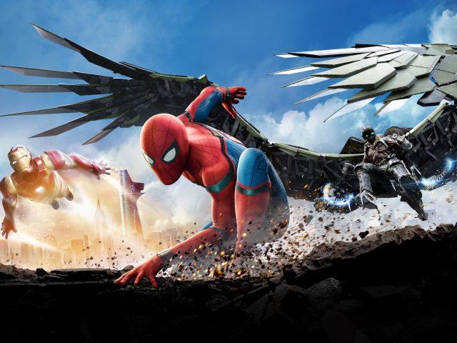 Человек-паук возвращение 4к 8к.