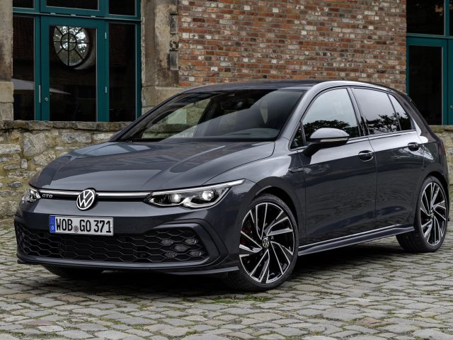Черный volkswagen golf gtd 2020 автомобили