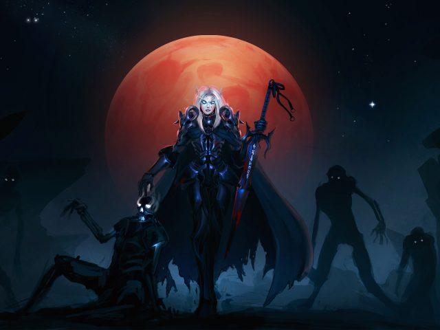 Мир Warcraft эльф крови.