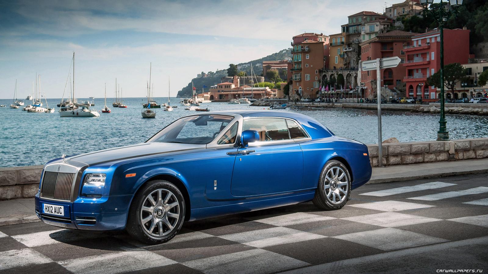 Rolls-Royce, Phantom, Coupe, Роллс-Ройс обои скачать