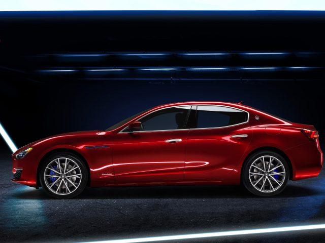 Maserati ghibli gran lusso hybrid 2020 автомобили