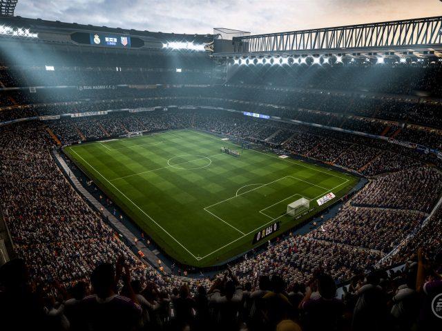 ФИФА 18 футбол видео игры стадион 8к.