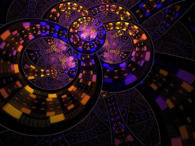 Красочный круг кольцо абстракция абстракция