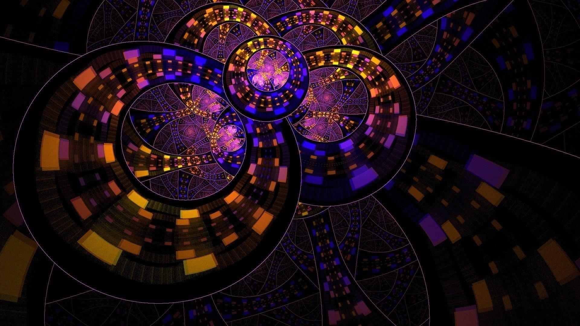 Красочный круг кольцо абстракция абстракция обои скачать