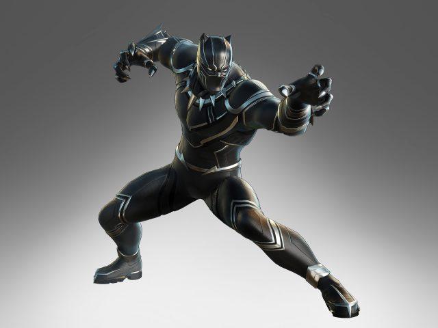 Черная пантера в marvel ultimate alliance 3 The black order