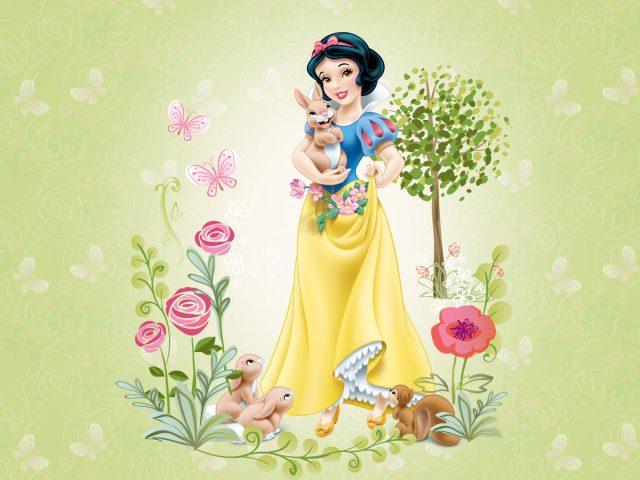 Дисней принцесса Белоснежка.