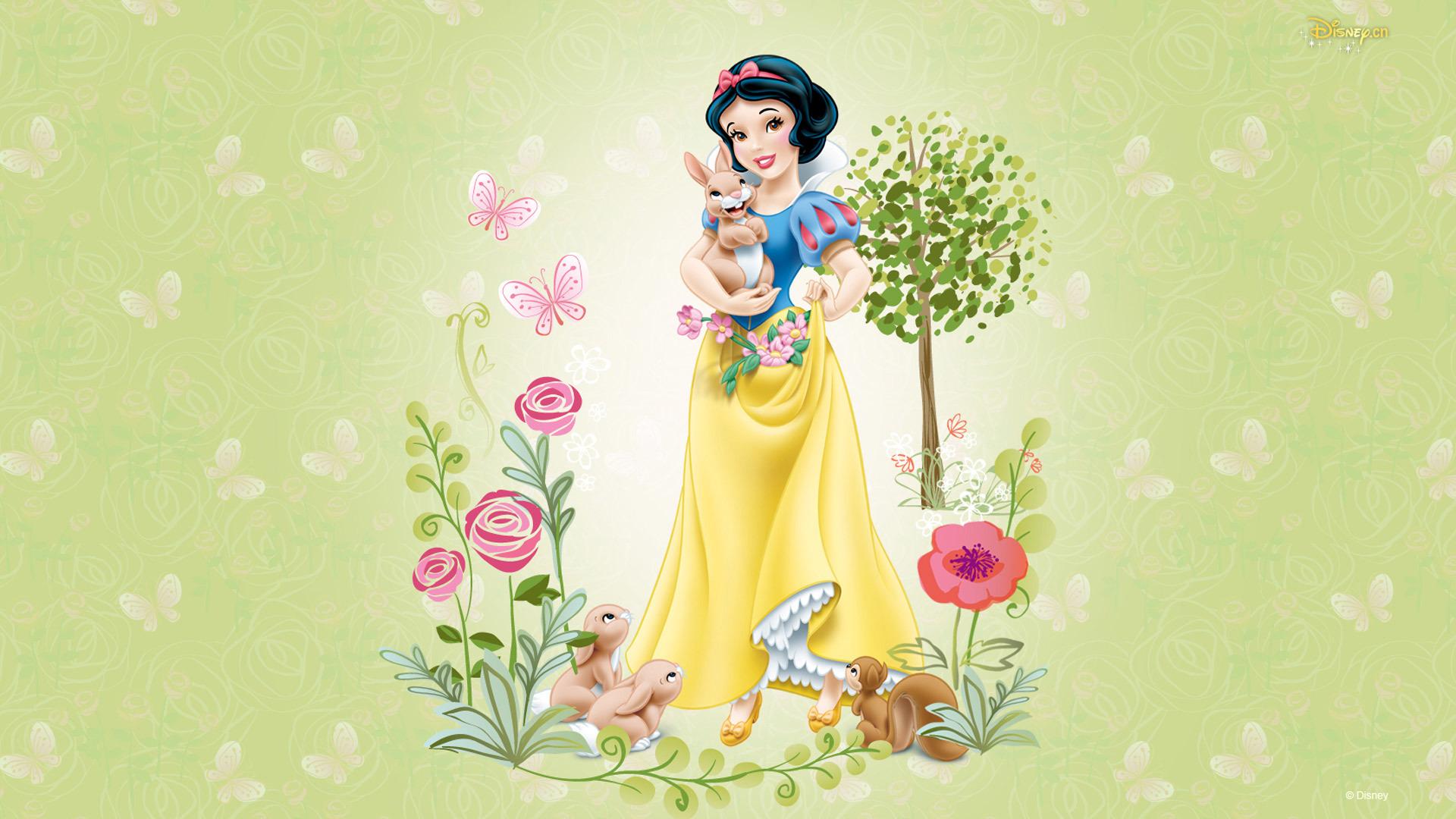 Дисней принцесса Белоснежка. обои скачать