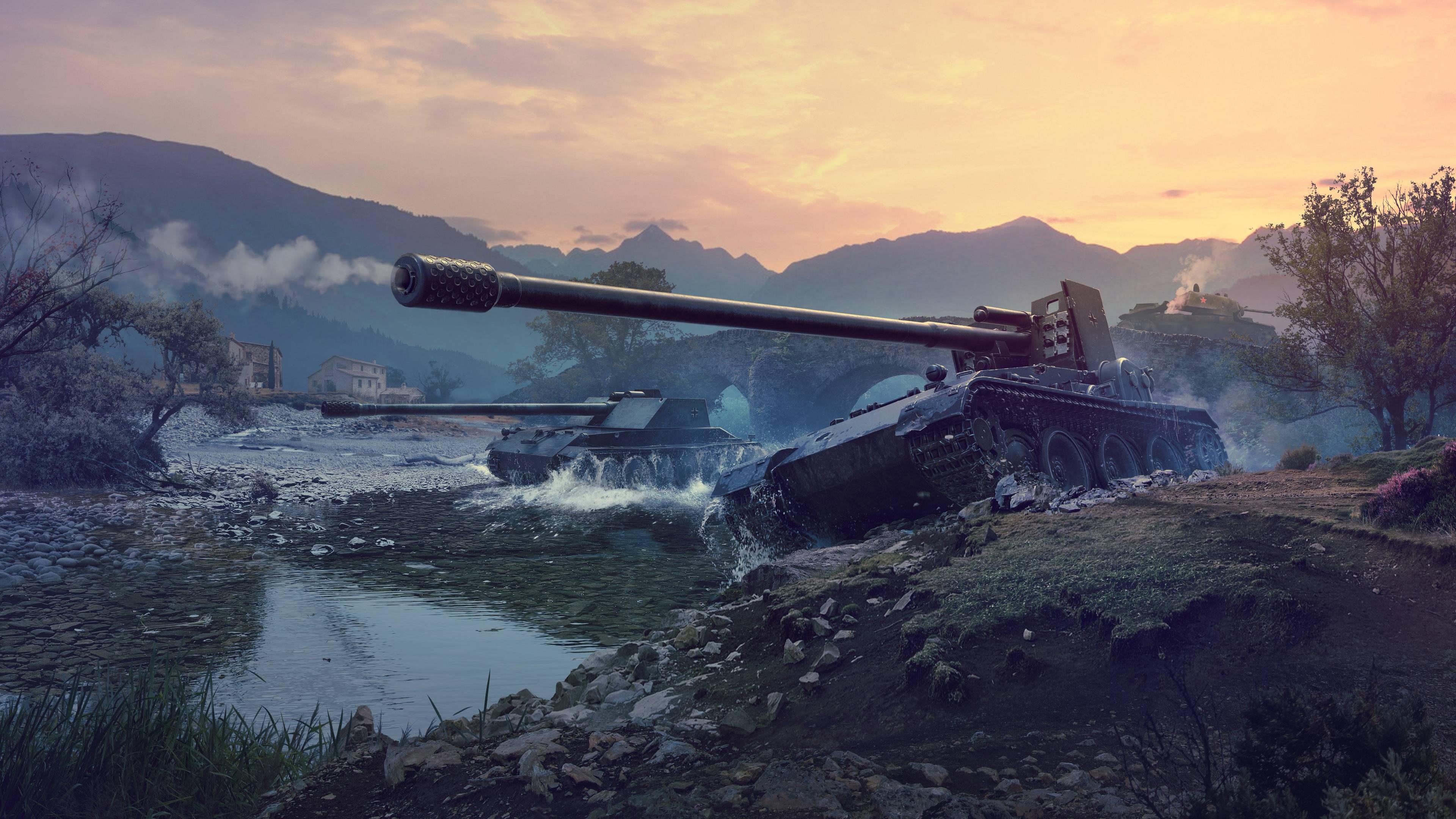 Мир танков немецкие Пт-САУ обои скачать