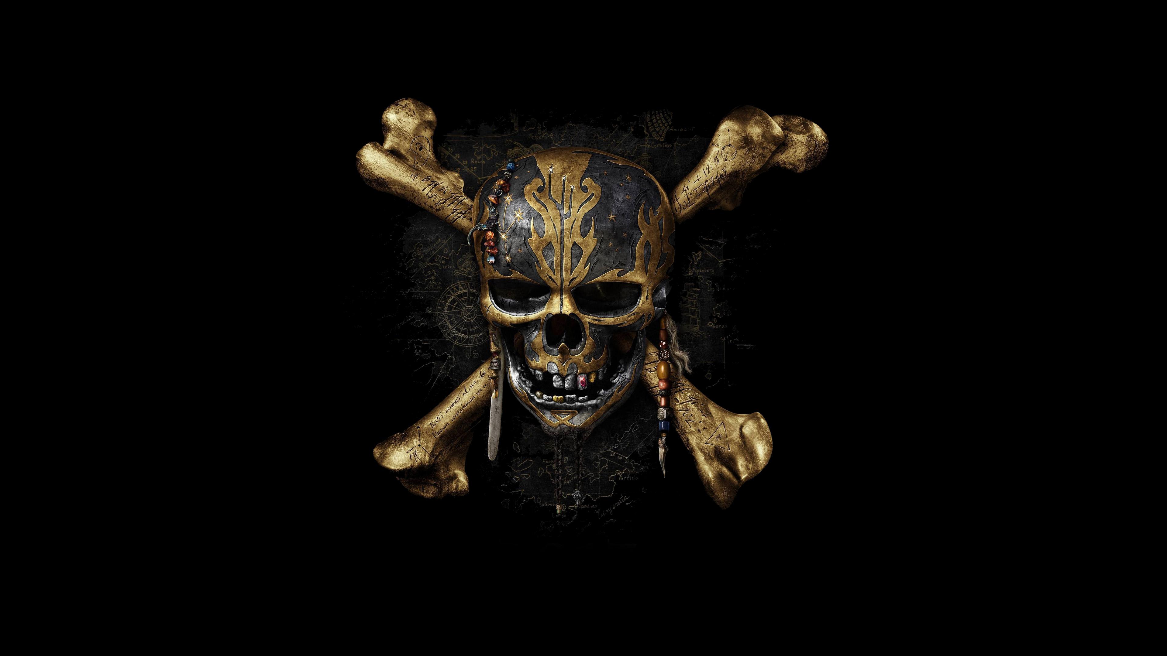 Пираты Карибского моря мертвецы не рассказывают сказки 4к обои скачать