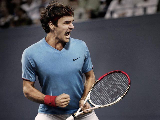 Роджер Федерер 5к.