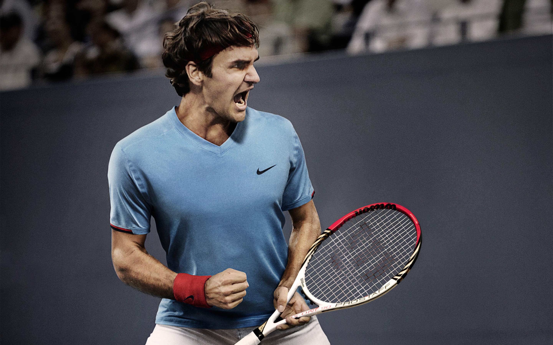 Роджер Федерер 5к. обои скачать