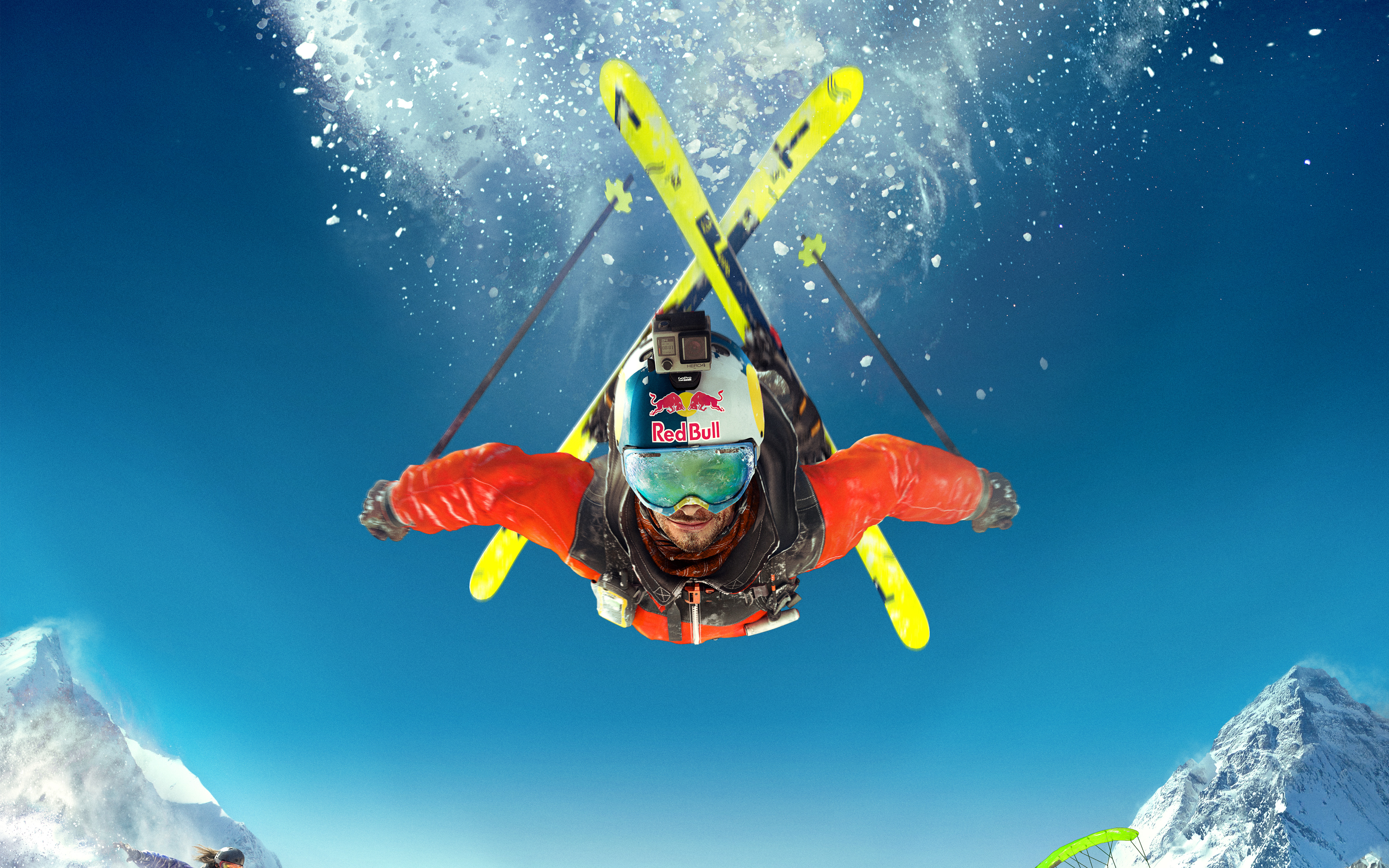 Steep Skiing обои скачать