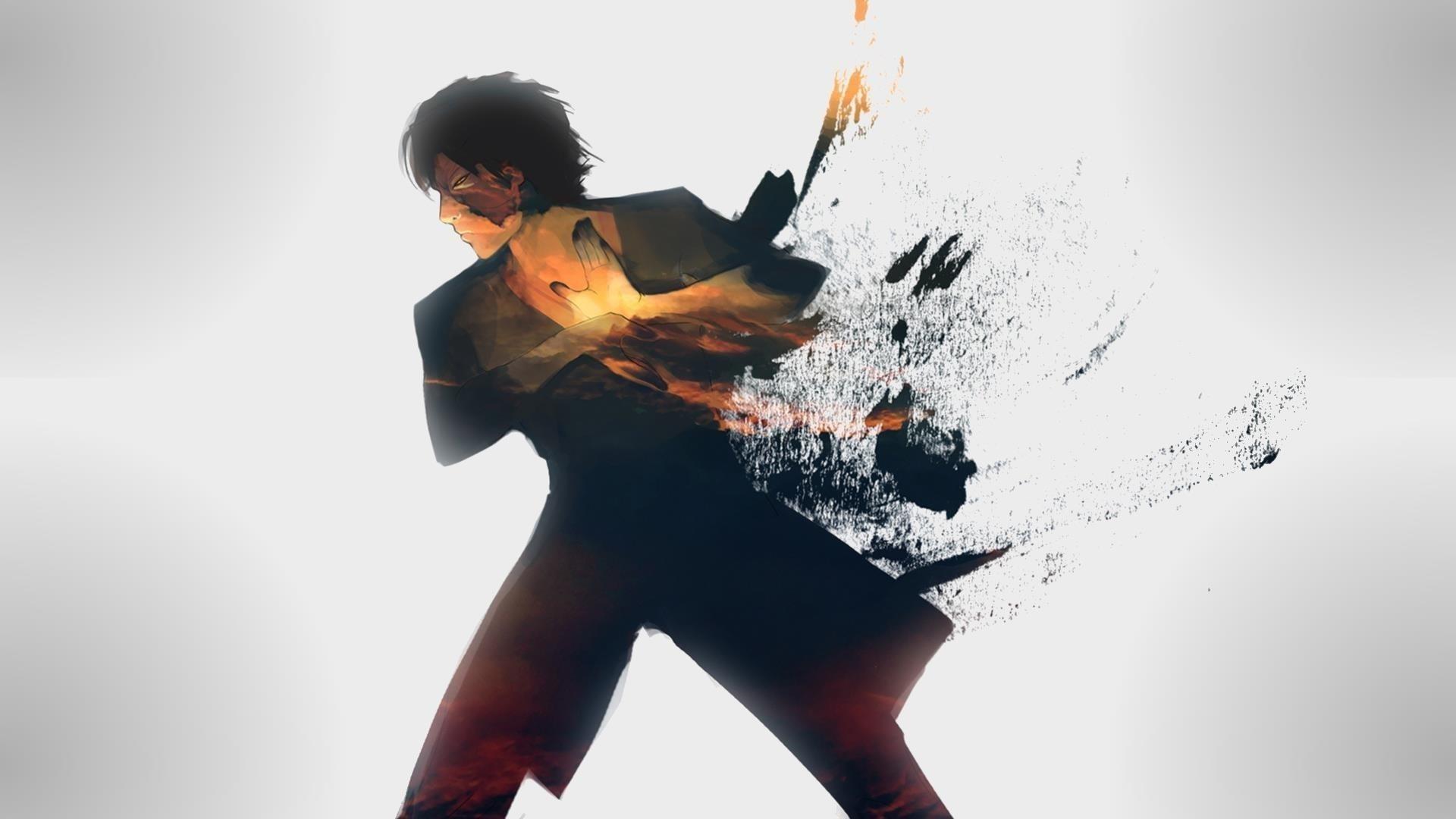 Аватар последний маг воздуха Зуко живопись аниме обои скачать