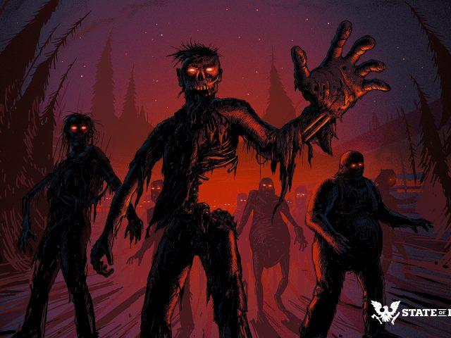 Зомби в состоянии распада 2