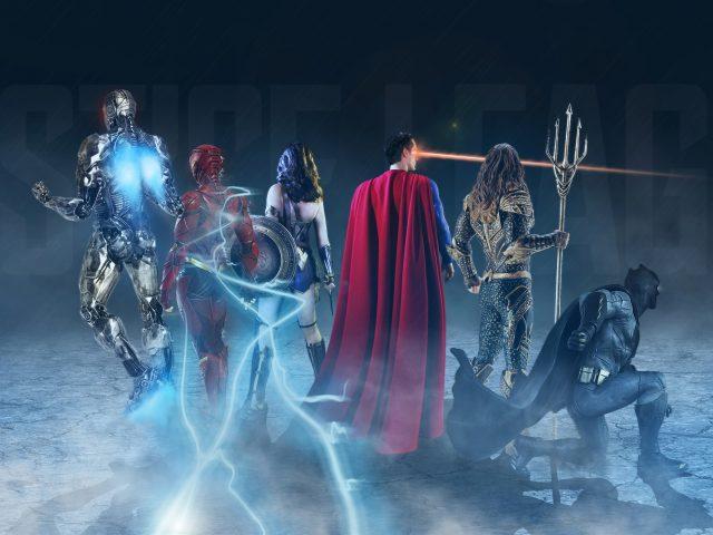 Правосудие лиги супергероев искусства
