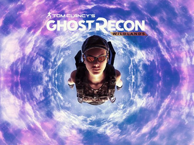 Призрак Recon дикие земли, прыжки с парашютом