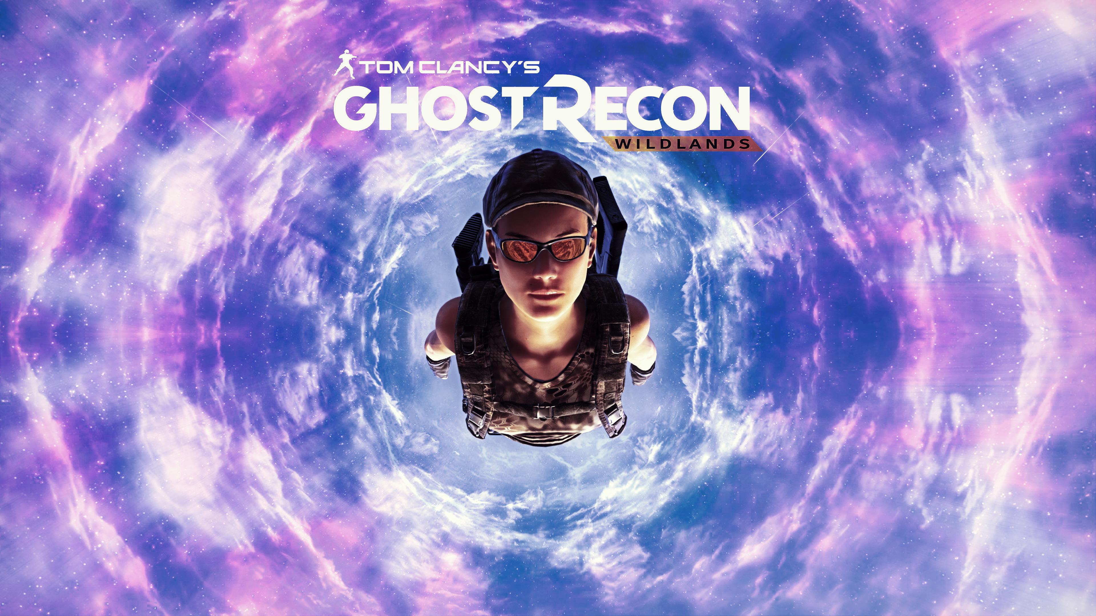Призрак Recon дикие земли, прыжки с парашютом обои скачать