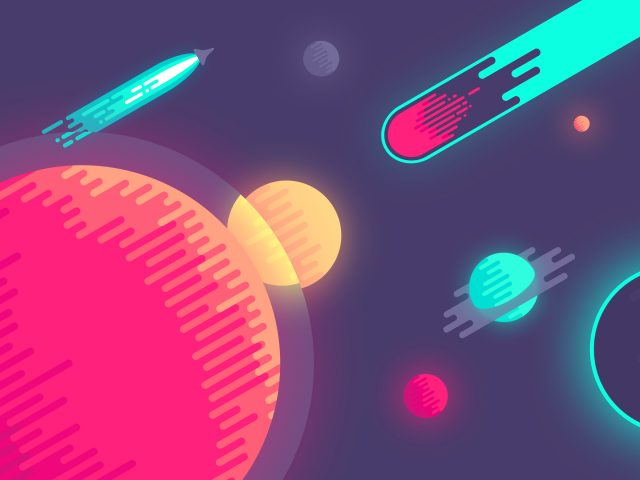 Планеты в пространстве минимум